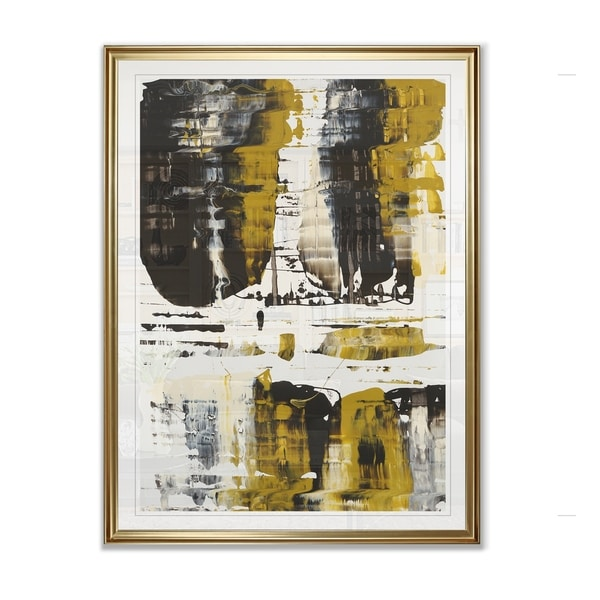 WC Velocity Gold -Framed Giclee Print