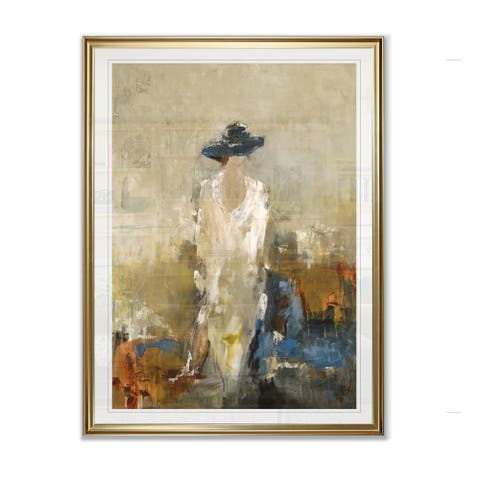 Elegant Moment I -Framed Giclee Print