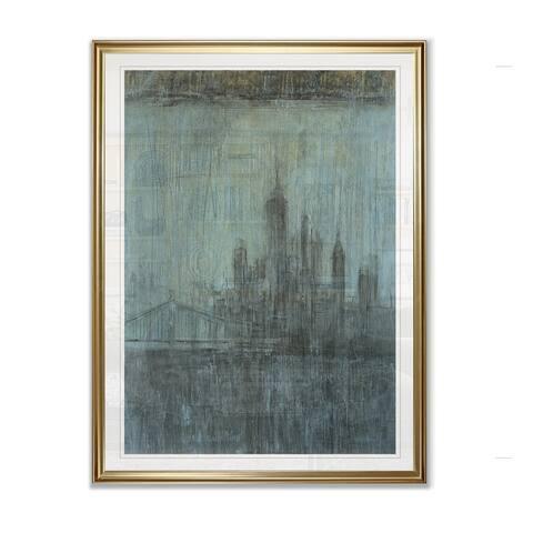 Urban Fog I -Framed Giclee Print
