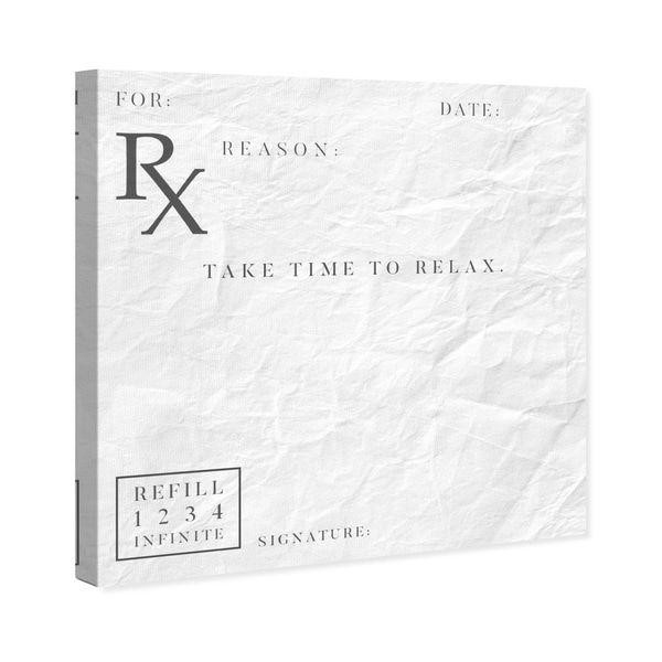 shop oliver gal take time to relax typography and quotes wall