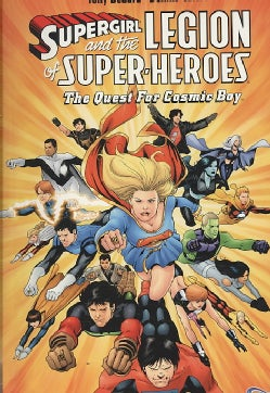 Supergirl and the Legion of Super-Heros: The Quest for Cosmic Boy (Paperback)