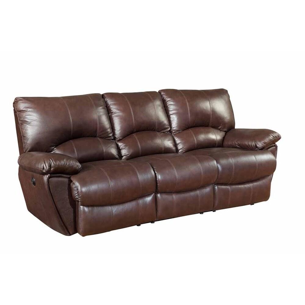 Pillow Top Arms Reclining Sofa