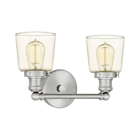 Quoizel Union Brushed Nickel 2-light Bath Light