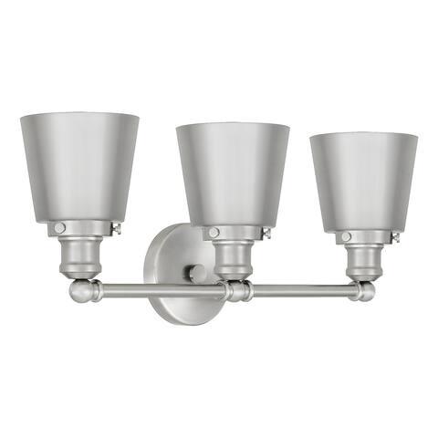 Quoizel Union 3-light Metal Shade Bath Light