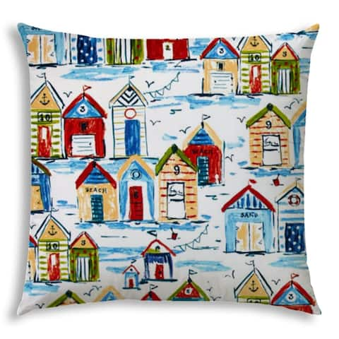 BAY Jumbo -Zippered Pillow Cover with Insert