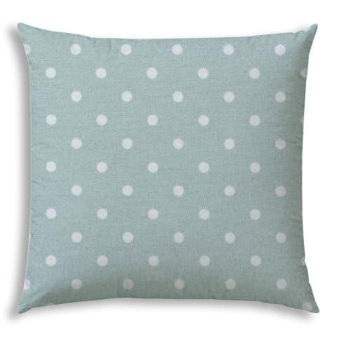 DINER DOT Seafoam Jumbo Indoor/Outdoor - Zippered Pillow Cover