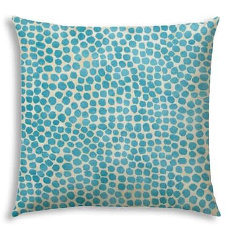 SWEET PUFF Turquoise Jumbo Indoor/Outdoor - Zippered Pillow Cover