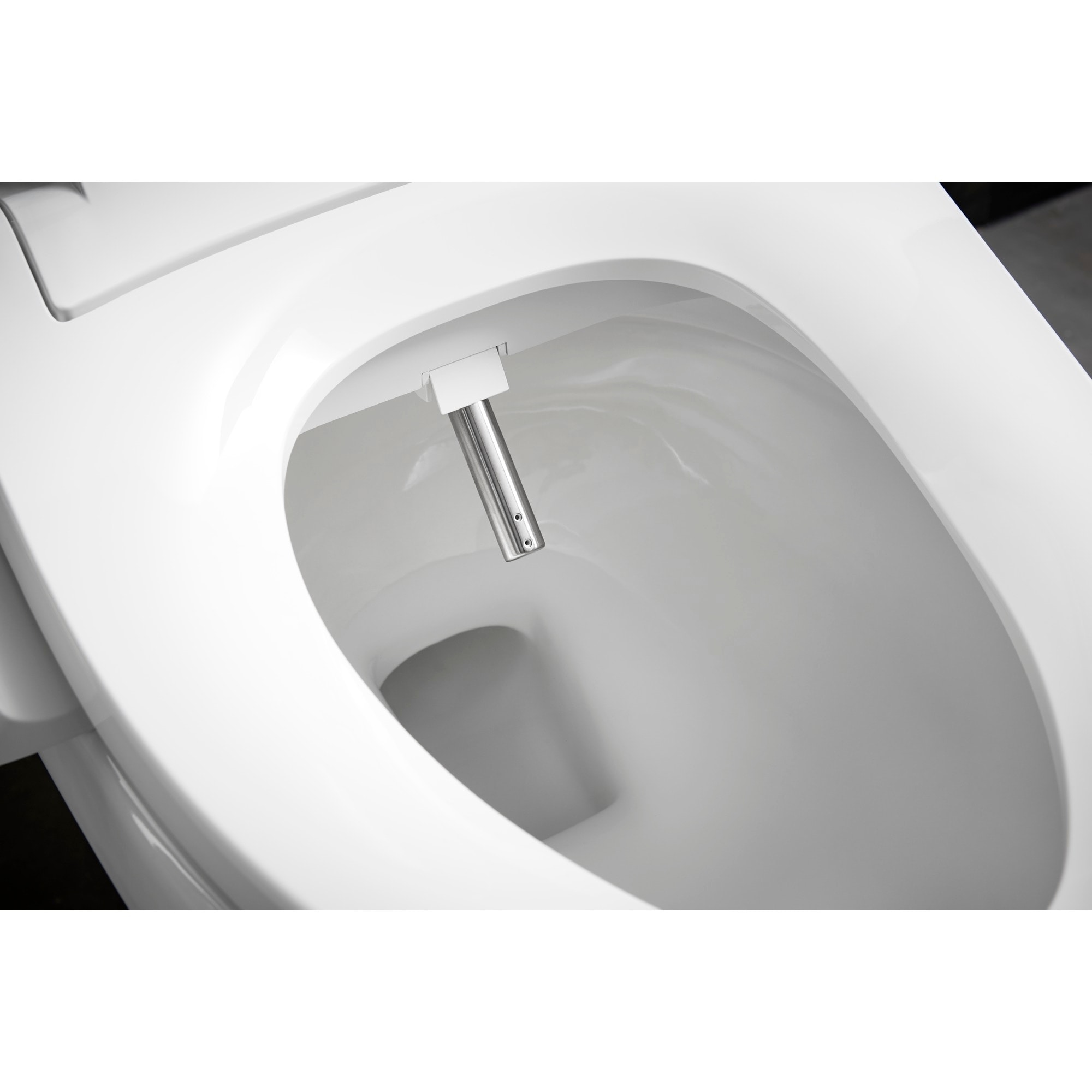 Superb Kohler C3 050 Cleansing Elongated Toilet Seat White Machost Co Dining Chair Design Ideas Machostcouk