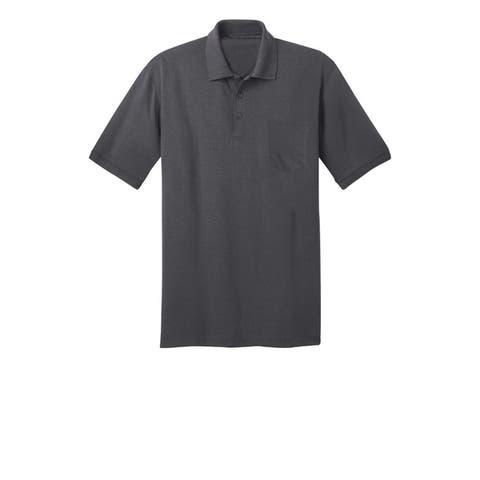 One Country United Men's Core Blend Knit Pocket Polo