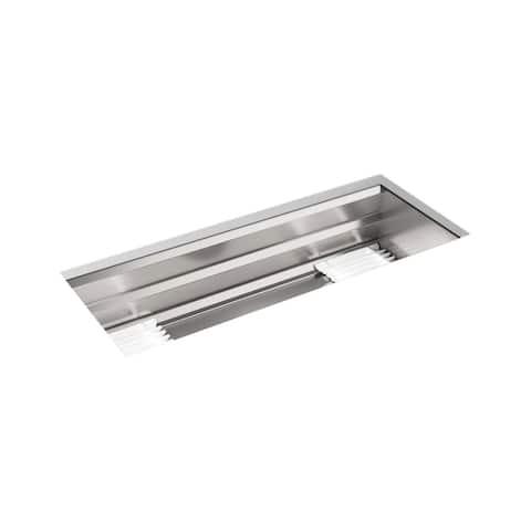"""Kohler Prolific 44"""" X 18-1/4"""" X 11-1/16"""" Undermount Single-Bowl Kitchen Sink with Accessories (K-23652-NA)"""