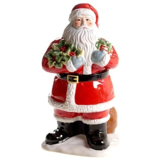 Certified International Vintage Santa 3-D Cookie Jar