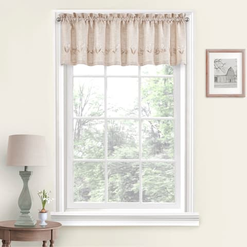 Vue Window Solutions Lily of the Valley Valance - 60 x 14