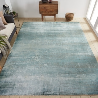 Copper Grove Singerei Blue and Grey Area Rug