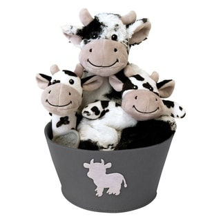 Link to Cow 4 Piece Plush Gift Set Bucket Similar Items in Gift Sets
