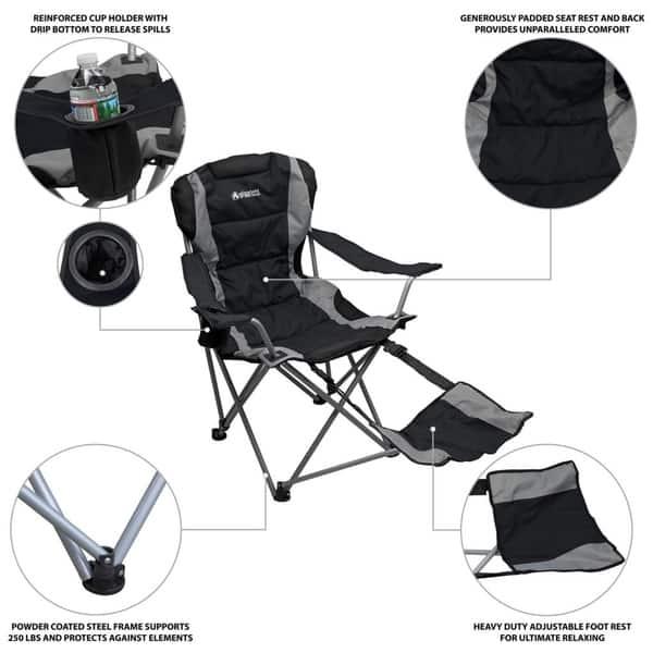 Gigatent Outdoor Camping Chair Lightweight Portable
