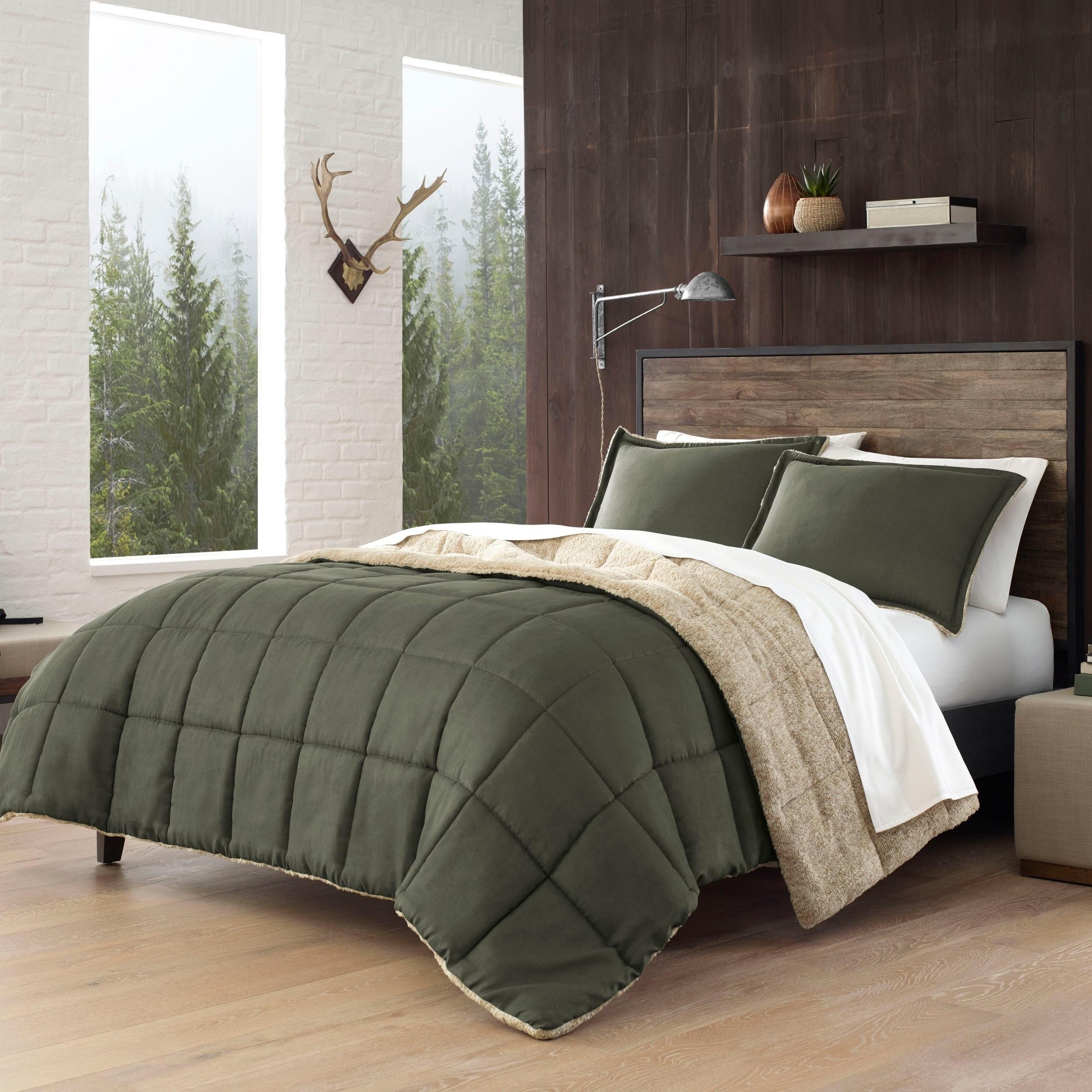 Eddie Bauer Sherwood Green Comforter Set Overstock 28639693