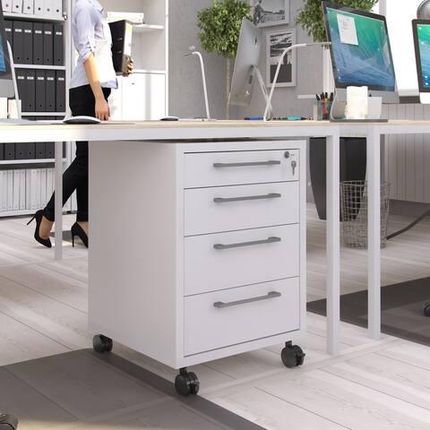 Porch & Den Miller Hill 4-drawer File Cabinet