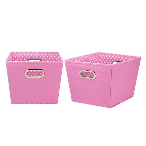 Household Essentials Medium Tapered Decorative Storage Bins