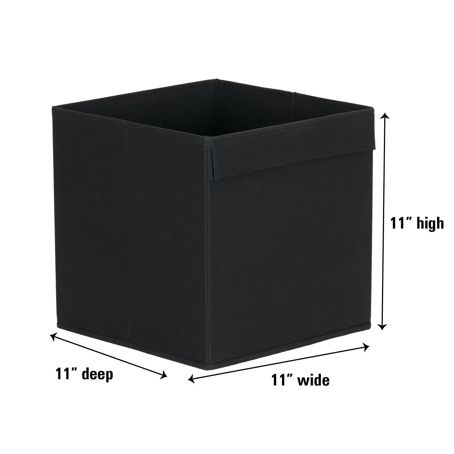 Fabric 11 Inch Collapsible Cube Set