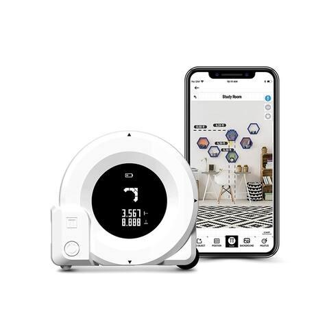 Plott Cubit - Smart Virtual Reality Measuring Tool w/ Bluetooth - White