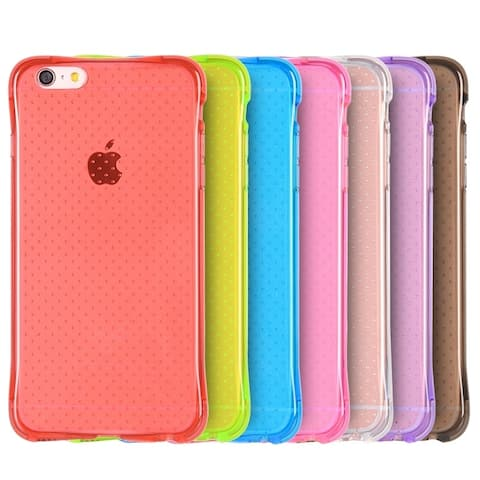 Translucent Crystal Slim Flexible Skin Case for iPhone 6 Plus 6s Plus