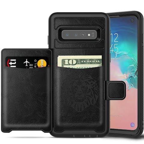 Cellphone Wallet Case with Kickstand for Samsung Galaxy S10