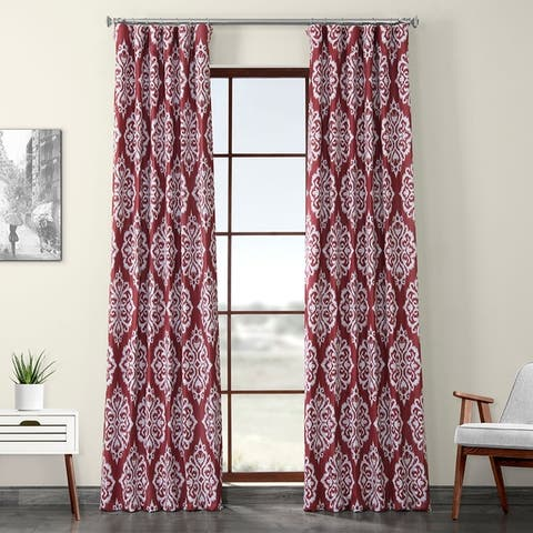 Porch & Den Killpack Medallion Printed Room Darkening Curtain
