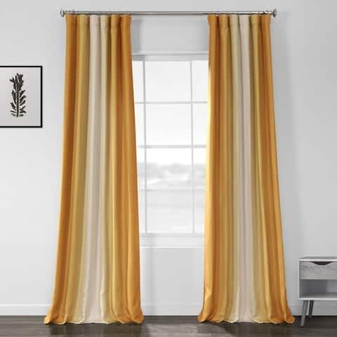 Porch & Den Frank Printed Textured Blackout Curtain