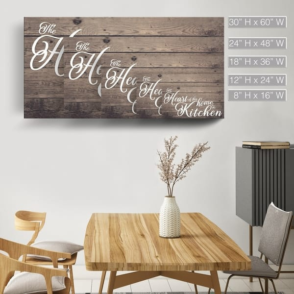 Shop The Gray Barn \'Where the Heart is\' Wrapped Canvas ...