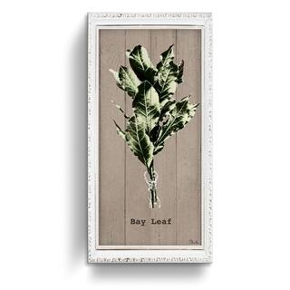 The Gray Barn Botanical 'Bay Leaf' Wrapped Canvas Kitchen Wall Art