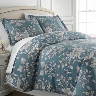 Vilano Plush All Seasons Vintage Garden Down Alternative 3-piece Comforter