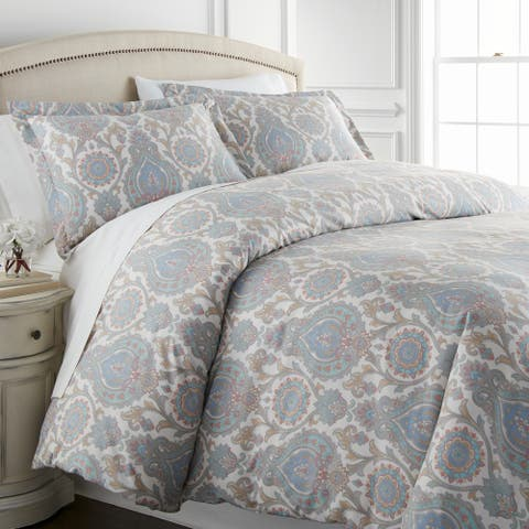 Boho Paisley Comforter and Sham Set