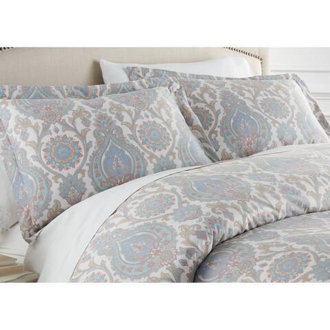 Boho Paisley Comforter and Sham Set