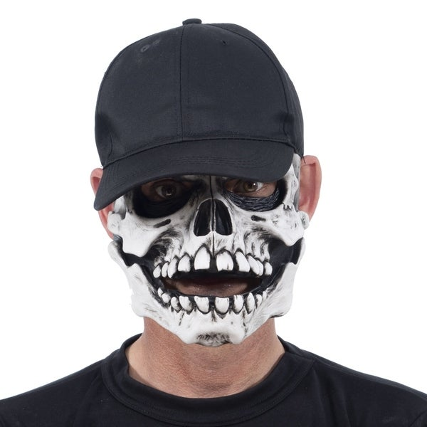 Zagone Studios White Ghost Little Raskull Latex Adult Costume Mask
