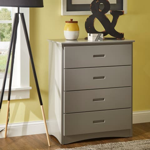 Hunter Grey Chest with Four Drawers by iNSPIRE Q Junior