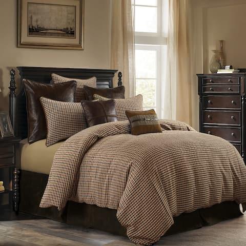 HiEnd Accents Clifton Comforter Set, Super King