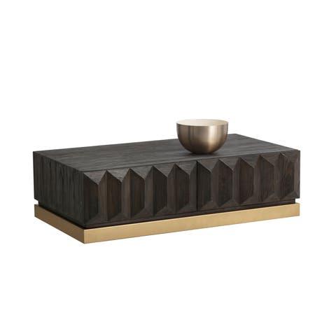 Sunpan Troy Mid-century Modern Coffee Table