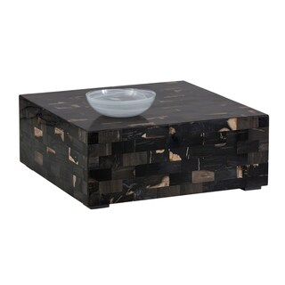 Link to Sunpan Artezia 102691 Midnight Coffee Table - Petrified Wood Similar Items in Living Room Furniture