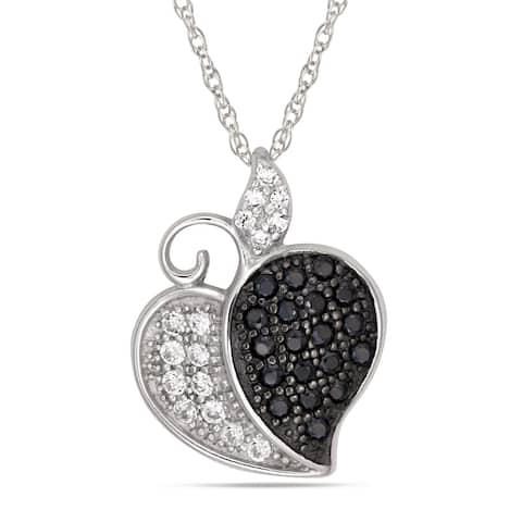 Forever Last Sterling Silver Heart Pendant on Necklace