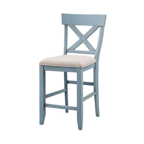 Set of 2 Bar Harbor Counter Height Dining Chairs