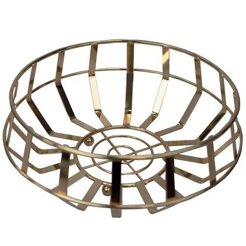 Lyon Fruit Basket, Rose Gold