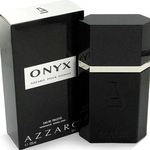 Onyx Men's 3.4-ounce Eau de Toilette Spray