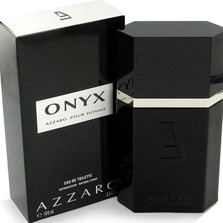 Onyx Men's 3.4-ounce Eau de Toilette Spray