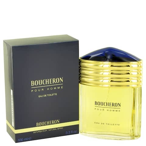 Boucheron Men's 3.4-ounce Eau de Toilette Spray - Gold