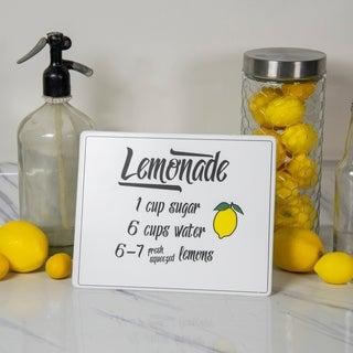 """Metal sign """"Lemonade"""""""