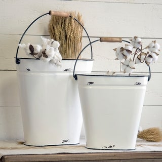 Metal buckets (Set/2)
