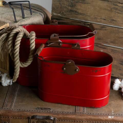 Metal buckets (Set/2)