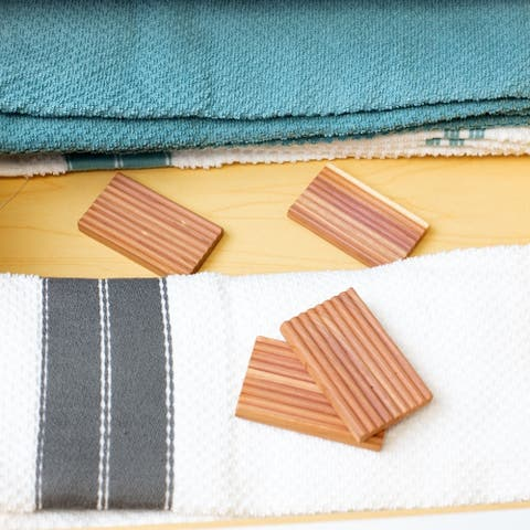 Bug-Repellent Cedar Planks, (Pack of 6) - Dress/Shirt - Brown