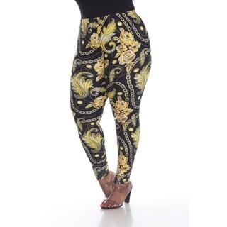 Link to White Mark Women's Plus Size Printed Leggings Similar Items in Pants