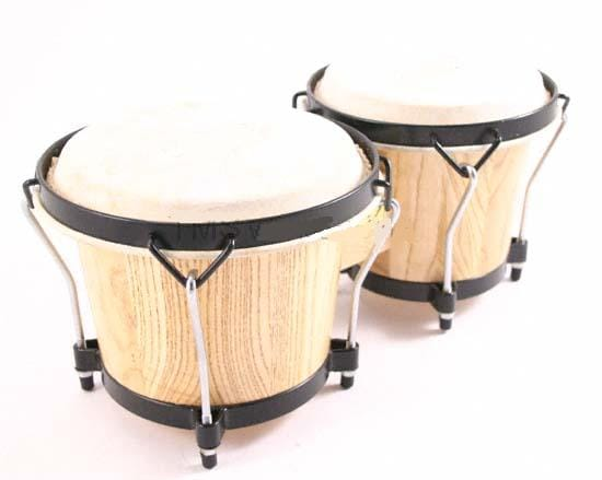 Solid wood bongo drums free shipping today overstock